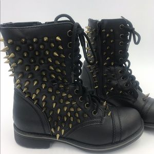 Shoes - Women's Spiked Boots (made by me)